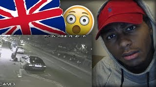 AMERICAN FIRST REACTION TO LONDON STREETS CCTV FOOTAGE (THE REALITY) | UK DRILL