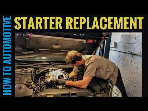 How to Replace the Starter on a 2000-2006 Lexus LS430