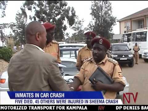 Inmates in car crash