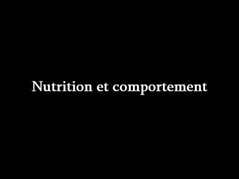 Nutrition et comportement