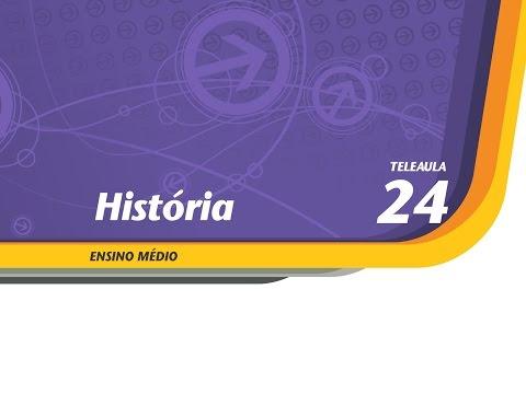 24 - A Colonização Espanhola e Inglesa na América - História - Ens. Médio - Telecurso