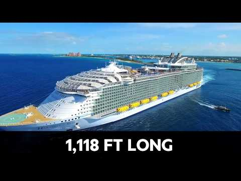 The Largest, Most Luxurious Cruise Ship IN THE WORLD!