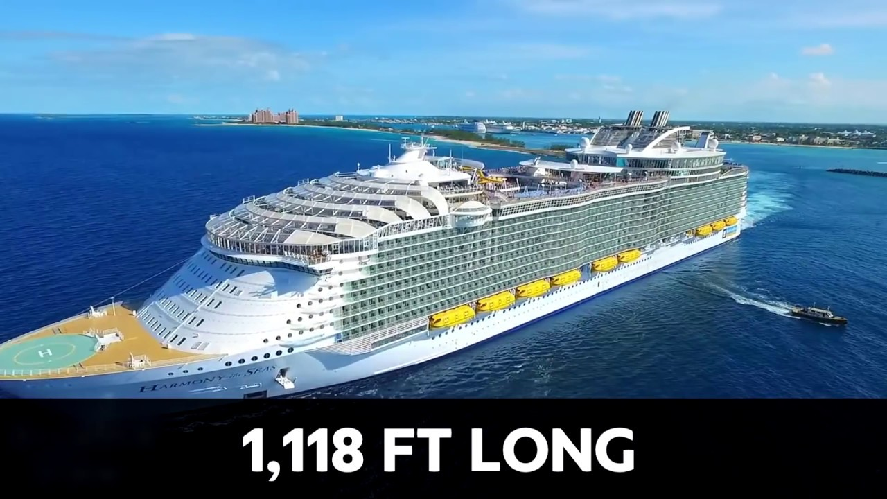 The Largest Most Luxurious Cruise Ship IN THE WORLD! - YouTube