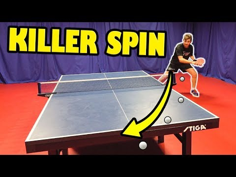 5 Tips To Produce KILLER Spin | Table Tennis