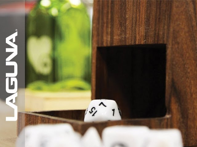 Tabletop Dice Tower Cut on CNC Router | Laguna Tools