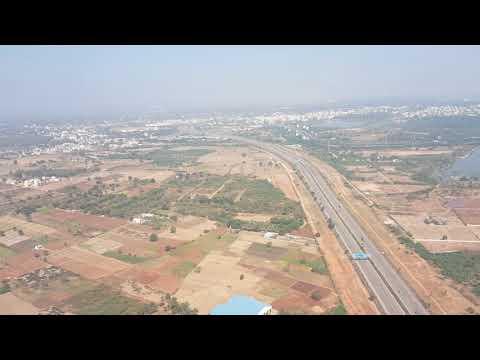Bhubaneshwar (BBI) to Hyderabad (HYD)    Indigo Airlines    Take off and Landing