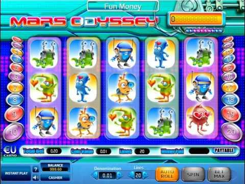 Игровой автомат Mars Odyssey