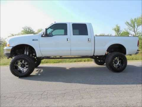 2002 Ford F-250 Diesel XLT 8 Inch Lifted Truck For Sale
