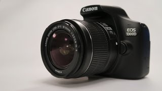 The New EOS 1300D - Rebel T6