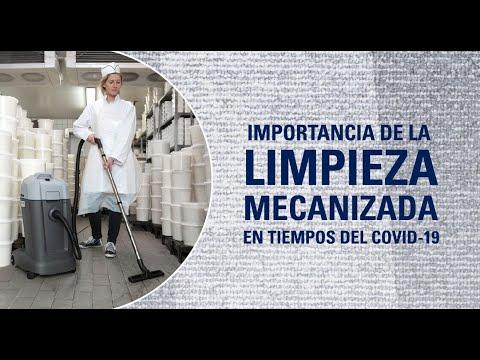 Webinar: Importancia de la Limpieza Mecanizada en Tiempos del COVID-19