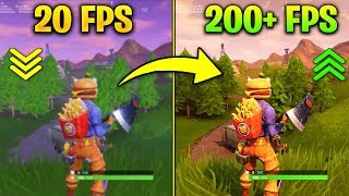 How to Get MORE FPS on Fortnite Season 6 - Increase Performance BOOST, FPS, LAG, CRASH FIX PART 3