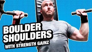 Total Shoulders Workout powered by Strength Gainz