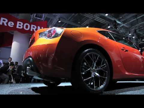 2013 Toyota 86 Reveal - Tokyo Motor Show 2011