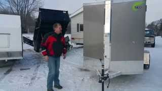 NEO 6x12 Enclosed Cargo Trailer at Northern RV!