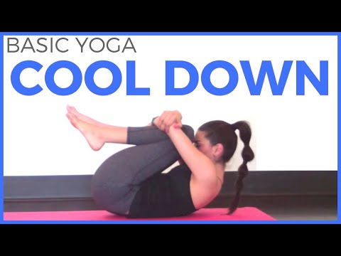10 minute Basic Yoga Cool Down | Post Workout Yoga with Sarah Beth Yoga