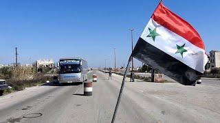 النظام السوري يعيد فتح طريق دمشق حلب السريعة بعد سيطرته على ريف حلب