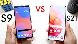 Samsung Galaxy S21 Vs Samsung Galaxy S9! (Comparison) (Review)