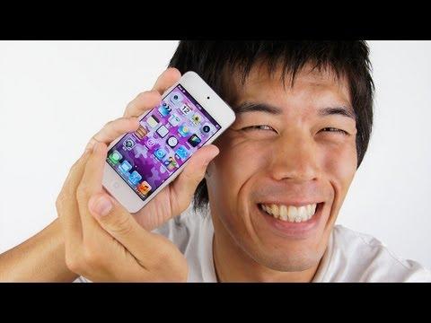 第5世代iPod touchレビュー過去最高バージョンアップだぞっ!