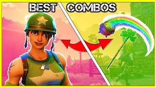 10 BEST SKIN AND PICKAXE COMBOS! (You Need These!) | Fortnite Battle Royale!