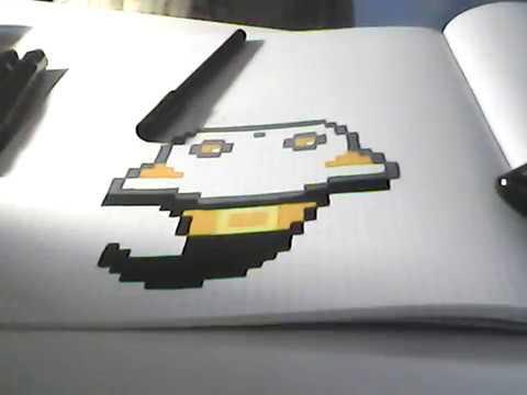 Mon Cahier De Pixel Art Youtube