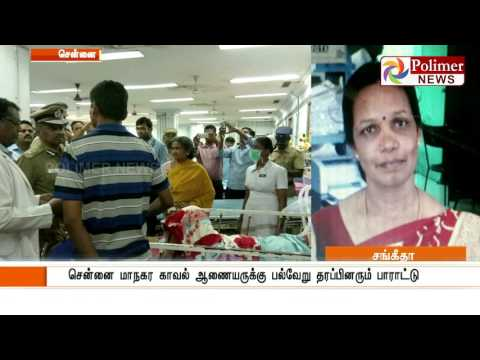 Chennai Apollo Delays Treatment to a cancer patient causing death   Polimer News