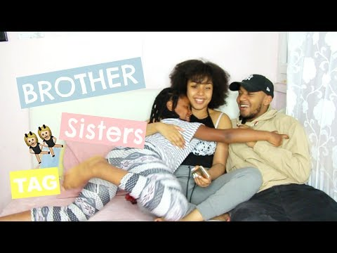 BROTHER AND SISTERS TAG FRANCAIS | HONEYSHAY