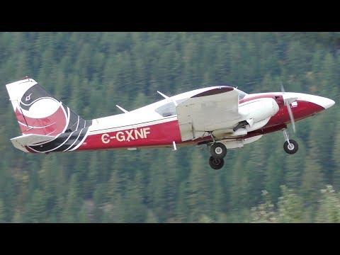 Piper PA-23-250 Aztec Takeoff