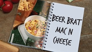 Copper Chef Pan Beer Brat Mac and Cheese