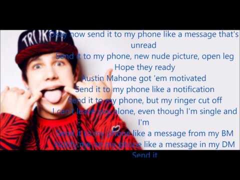 Send It (Lyrics) - Austin Mahone