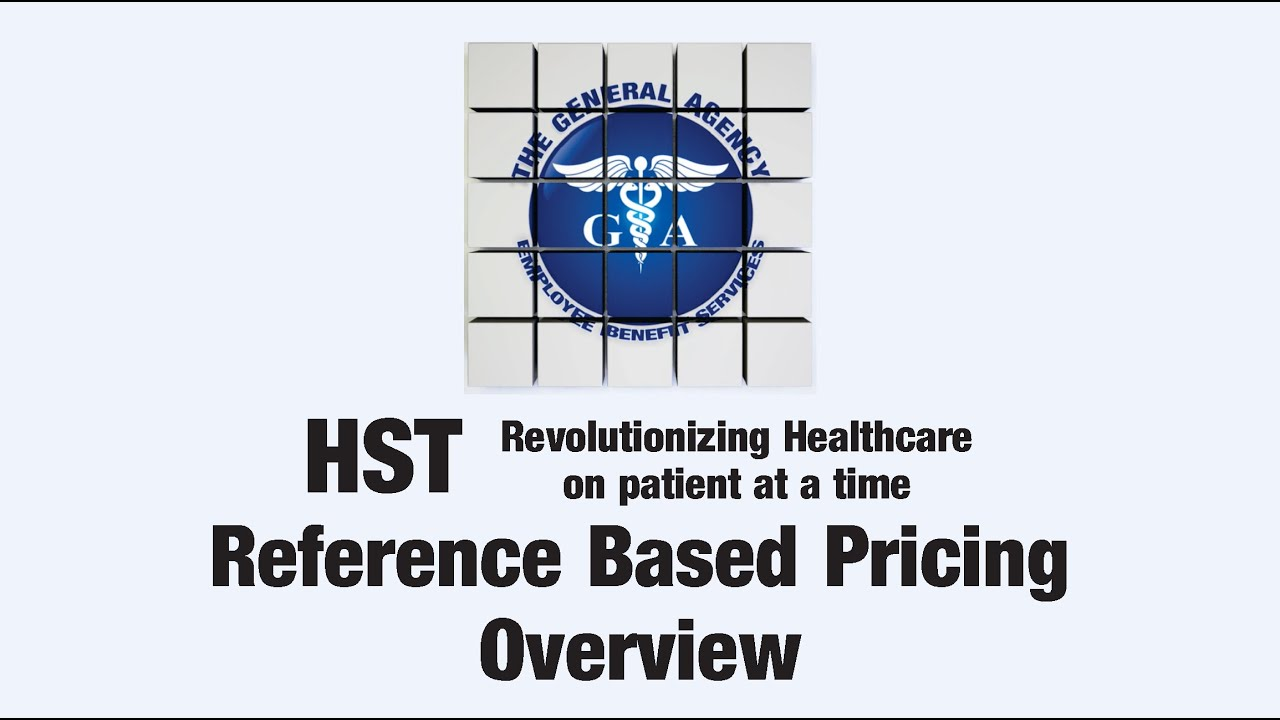 HST Group Health Insurance - Referenced Based Pricing ...