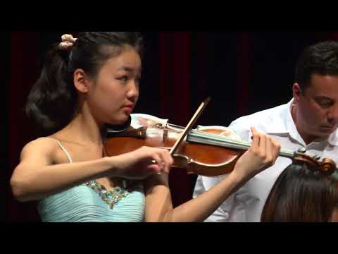 MIRAY ITO  Menuhin Competition 2018 Junior first rounds - day 2