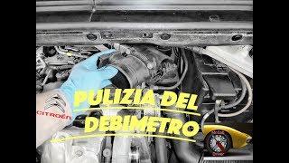 Come Fare la Pulizia del Debimetro Citroen C4 C4 Picasso Peugeot 308