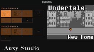 Undertale - Undertale(New Home) [Auxy Studio] Video