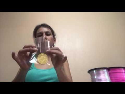 Bolos Para Bautizo Con Monedas.Monedas De Chocolate Para Bautizo Youtube