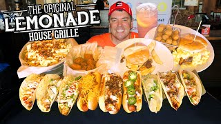 Lollapalooza Food Challenge w/ Burgers, Hot Dogs, and Tacos!!