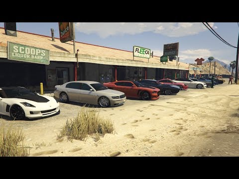 Livestream - GTA 5 - FUN ON A BUDGET CAR MEET And Racing Playlist PS4