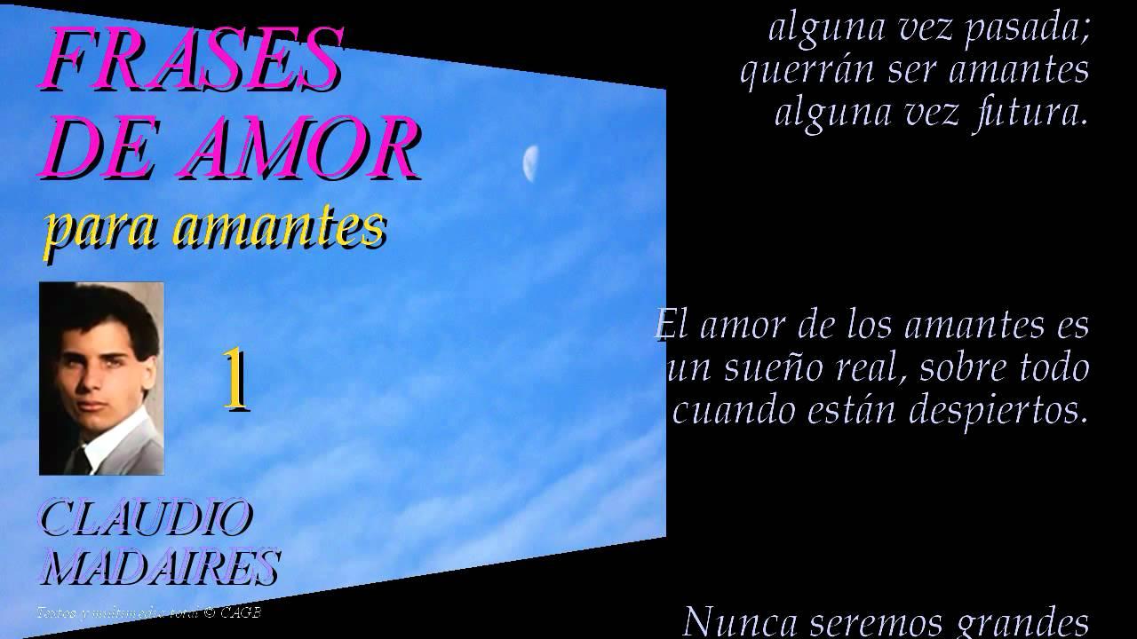 Amor Frases Anoche: FRASES DE AMOR PARA AMANTES (1)