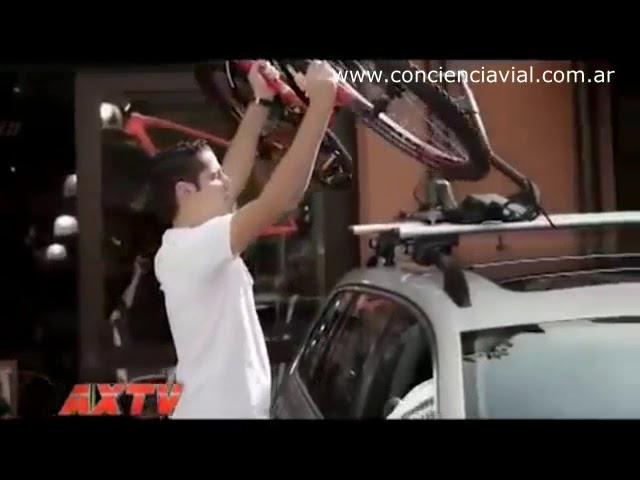 ¿Cómo transportar bicicletas en el auto?