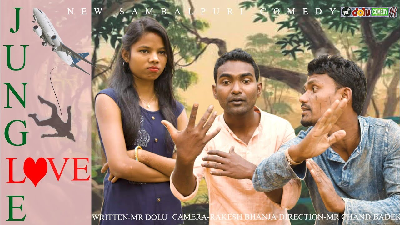 JUNGLE LOVE // MR DOLU COMEDY // SAMBALPURI COMEDY//