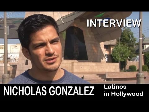 Nicholas Gonzalez on Latinos and Hollywood - Actor Interview