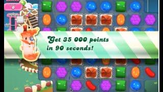 Candy Crush Saga Level 151 walkthrough (no boosters)