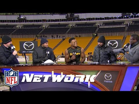 "JuJu Smith-Schuster on Antonio Brown: ""This guy is the GOAT"" 