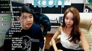 [1] 오랜만에 온 배우'하나경' 과 화끈한 토크쇼!! - KoonTV