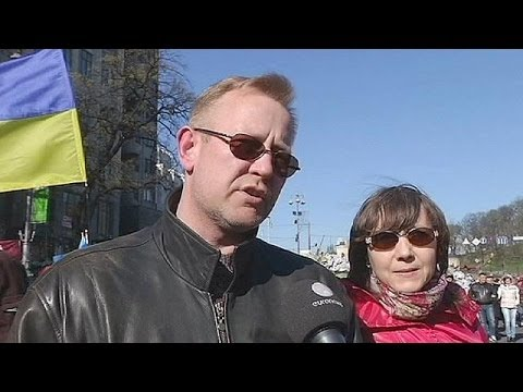 Ukraine:reactions to choice of presidential candidates