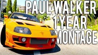 Forza Horizon 2 Paul Walker Tribute 1 Year Anniversary Montage