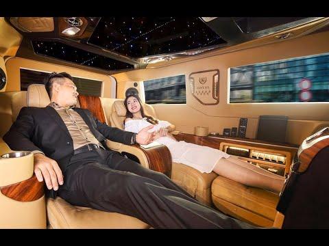 Xe Ford Tourneo Limousine Phiên Bản President Của Hãng Ô Tô Dcar Limousine