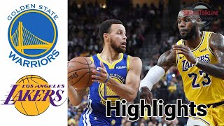 Warriors vs Lakers HIGHLIGHTS Full Game | NBA February 28