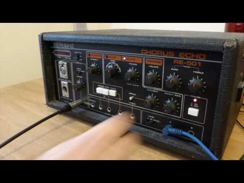 Roland RE-501 Chorus Echo (Bass)