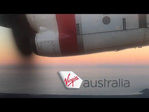 Virgin Australia ATR 72-600 [VH-FVN] • FULL FLIGHT Sydney To Port Macquarie VA1191
