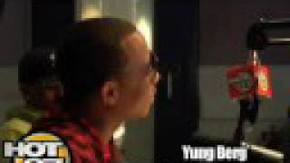 HOT 97 - Angie Interviews Yung Berg